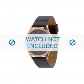 Calvin Klein correa de reloj K26215 Cuero Marrón 19mm