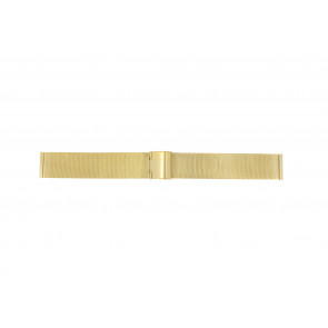 Correa de reloj Universal 18.1.5-ST-DB Milanesa Chapado en oro 18mm