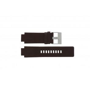 Correa de reloj Diesel DZ1123 Cuero Marrón 18mm