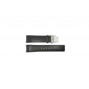Calvin Klein correa de reloj K1V278 Cuero Negro 22mm