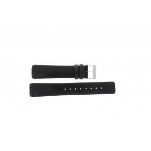 Correa de reloj Skagen 433LSLC Cuero Negro 18mm