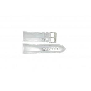 Correa de reloj Universal 369.31 Cuero Gris 30mm