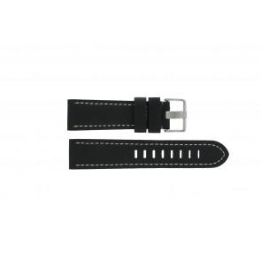 Correa de reloj Prisma ZWST23 Cuero Negro 24mm